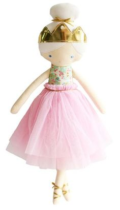 Perfect for your young storyteller, this modern, large-scale princess doll invites endless possibilities for imaginative play. Unlike dolls based on a known character, she's defined by your child's imagination. Is she a princess of unicorns? Are the unicorns coming over for tea? Does she live in a city or on an island? A true friend, thisstunning doll helps them make sense of their world, both real and imagined.  Give. Inspire. Play. That is the mission behind design-focused toy maker…