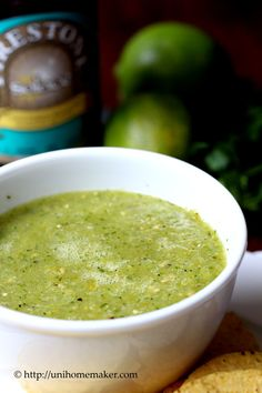 I'm not much of a salsa verde person. And I can't tell the difference between a good or bad salsa verde (I'm more of a tomato-base salsa kinda gal). Since it's made from scratch, I'm just going t...