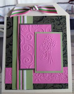 Flowers, Divine Swirls and Baroque Borders by stamptician - Cards and Paper Crafts at Splitcoaststampers