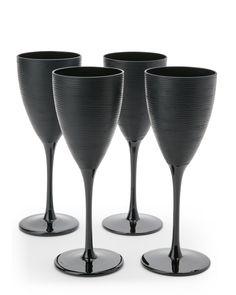Qualia Set of 4 Artisan Wine Glasses