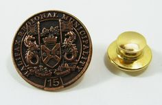 Halifax Regional Municipality 15 Year Pin Back Pin