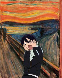 A incrivel arte dos animes <3