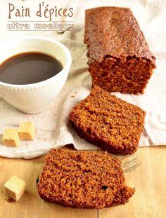 Pain d'épices ultra moelleux et fondant / Gingerbread. Il est super bon, mais il manque un petit quelque chose dans les épices....