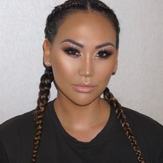 RobGlow on this stunner @dorothywang ✨ Makeup by Me @facesbyrob #facesbyrob #dorothywang _Skin Prep @baborusa Glow Booster   _Foundation @armanibeauty Luminous Silk  _Eyeshadow @personacosmetics Identity Palette and @go rlactik Metalic Shadow Stick in Cashmere   _Glow @anastasiabeverlyhills #glowkit   _Bronzer @hourglasscosmetics   _Lips @doseofcolors Poise and Undressed