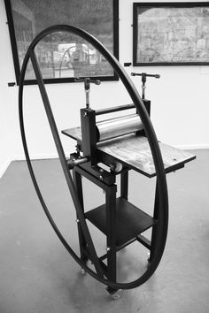 Excellent Etching Printing Press Prints all Intaglio and Relief plates Blanket and Runners included Choose from: Bench Top or stand? Star or Round Wheel?