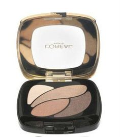 Loreal Color Riche Eye Shadow Quad - Poczwórne cienie do powiek E2 Nude Lingerie