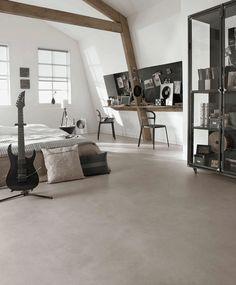 LINOLIUM Forbo flooring, setdesign and styling Wieteke Faay. Linoleum Flooring, Concrete Floors, Living Room Flooring, Kitchen Flooring, Urban Loft, Sweet Home, New Homes, House Design, Set Design