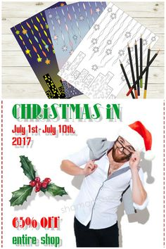 Christmas in July Sale! Stars Coloring Book Digital Download, Adult Coloring Pages, Printable Colouring Book with Examples PDF, Libro de colorear, Malbuch, Livre de coloriage.