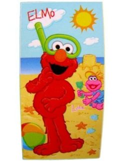 Sesame Street 174 Beach Towels Your Pick Elmo Or Cookie