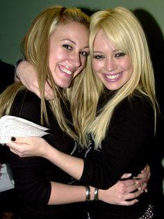 Haylie & Hilary Duff. :)