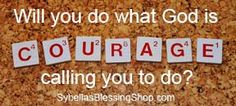 Will you do what God is calling you to do?