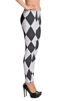 Harlequin damast Leggings