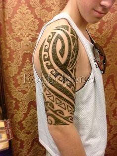 more man henna designs