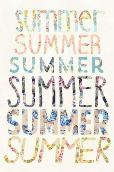 Summer is the best!
