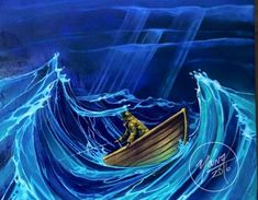 Jiggin in a Rough Sea painting by Newfoundland artist Adam Young Fogo Island Newfoundland, How To Look Pretty, That Look, Rough Seas, Adam Young, Young Art, Art Studies, Cubism, Folk Art