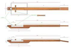 Resultado de imagem para 4 string cigar box resonator guitar neck