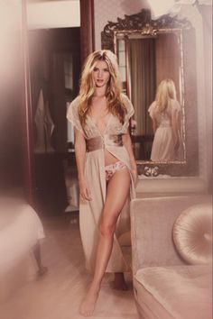 Rosie Huntington-Whiteley For M Lingerie Spring/Summer 2013 Collection