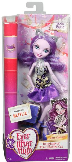 Ever After High Book Party Kitty Cheshire Doll - Doll