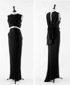1964 Boléro et robe.Cristobal Balenciaga designer