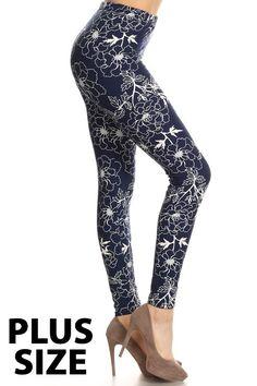 Leggings - Plus / abby annas boutique