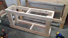 quick build fishtank stand