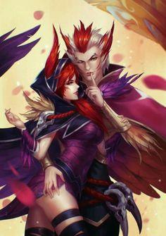 Rakan and Xayah- League of Legends