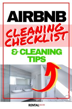 This essential AIRBNB CLEANING CHECKLIST is the ultimate guide for your cleaner, or yourself. The first must-do item when cleaning an Airbnb is. House Cleaning Checklist, Cleaning Companies, Cleaning Business, Cleaning Hacks, Cleaning Schedules, Cleaning Services, Cleaning Products, Airbnb Rentals, Vacation Rentals