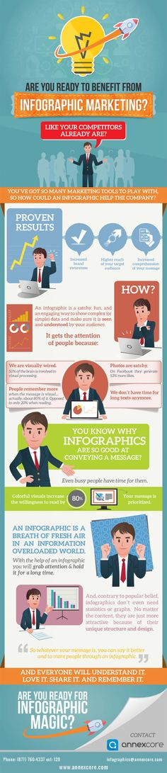 Are You Ready to Benefit from #Infographic #Marketing?