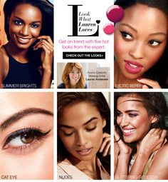 Lauren Anderson has picked out some of her Avon Makeup Favorites.  And here they are... To Shop #Avon Online Click Here ==>http://argena.avonrepresentative.com/blog/2014/07 #Freeshipping on any $35+ order