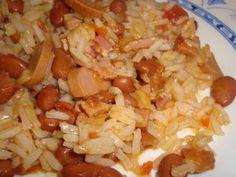 Arroz de salsichas com feijão manteiga, Receita de Vinamatos - Petitchef