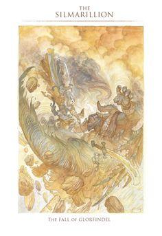 the fall of glorfindel  (Tolkien)   justin gerard    http://quickhidehere.blogspot.com/
