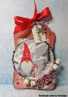 I´ve made a christmas tag Papers: Pion design- A Christmas to Remember- . Christmas Tag, Christmas Stockings, Christmas Ornaments, December, Challenges, Angel, Holiday Decor, Cards, Blog