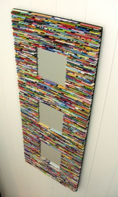 Recycled magazines!!!