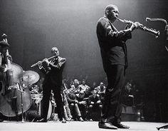 John Coltrane, Eric Dolphy and Reggie Workman, Holland, 1961 http://themaninthegreenshirt.tumblr.com/post/136273027160