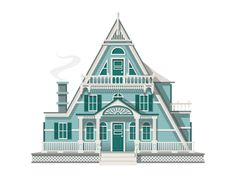 A House A Day Project- 14 by Christopher Hebert