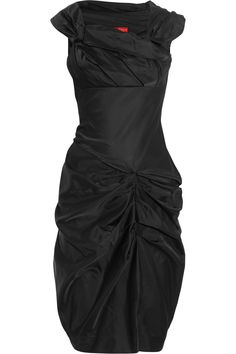 One day I will own a Vivienne Westwood dress.  Yes I will.    Red Label | Duchesse-satin dress | NET-A-PORTER.COM