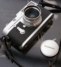 Leica + Voigtlaender. fhu