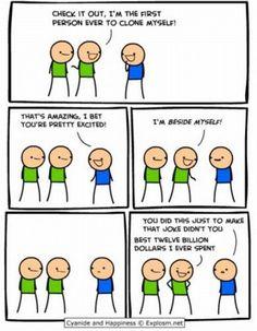 Cyanide and Happiness Comic Strip