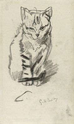Музей рисунка - George Hendrik Breitner (1857-1923гг).