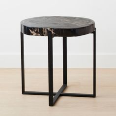 homenature - teak large square coffee table