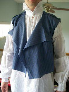 Living with Jane: RHF Regency Men's Waistcoat: Tutorial, Part 1