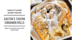 You can now make the Disney famous cinnamon rolls from Gastons Tavern in Magic Kingdom Park in the comfort of your own h Magic Kingdom, Southern Living, Disney Inspired Food, Delicious Desserts, Yummy Food, Fun Desserts, Tasty, Breakfast Recipes, Dessert Recipes