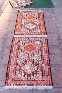 LIVRAISON gratuite des tapis de soie de VAN 73cmx210cm