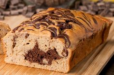 Make Your Healthy Banana Bread Even More Delicious With A Dark Chocolate Swirl