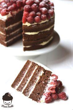 Himbeer Mascarpone Schokolade Torte yammiieee