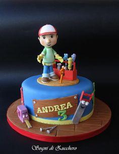 Handy Manny cake by Sogni Di Zucchero Letizia Bruno