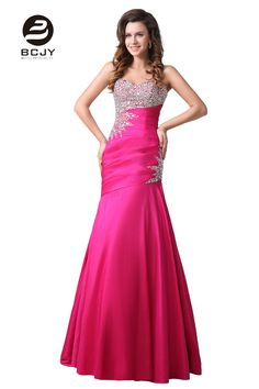 >> Click to Buy << High Quality Beaded Long Mermaid Prom Dresses Sweetheart Off the Shoulder Sleeveless Evening Party Gown Vestido De Noiva  #Affiliate