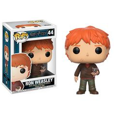 Add a little bit of magic to your collection with Funko Pop's Harry Potter collection! The iconic and beloved Funko POP action figure is here with POP Harry Potter Ron Weasley Scabbers Vinyl Figure, the perfect gift for any Harry Potter fan!