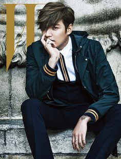 Extra W Korea Shots Of Lee Min Ho In Paris | Couch Kimchi