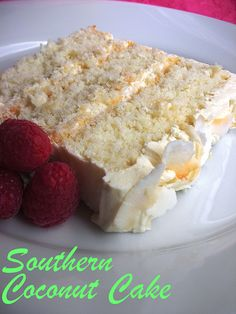 The Cake Slice: Southern Coconut Cake from the book that this recipe comes from, Sky High: Irresistible Triple Layer Cakes Just Desserts, Delicious Desserts, Yummy Food, Awesome Desserts, Sweet Recipes, Cake Recipes, Dessert Recipes, Pudding Desserts, Cupcakes
